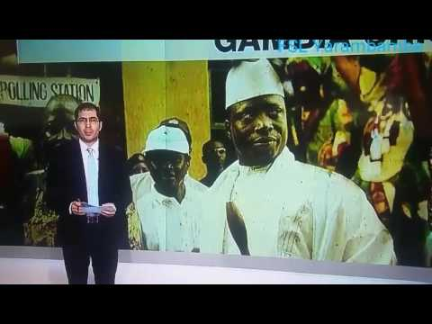 Gambia: H.E Adama Barrow's First International TV Interview