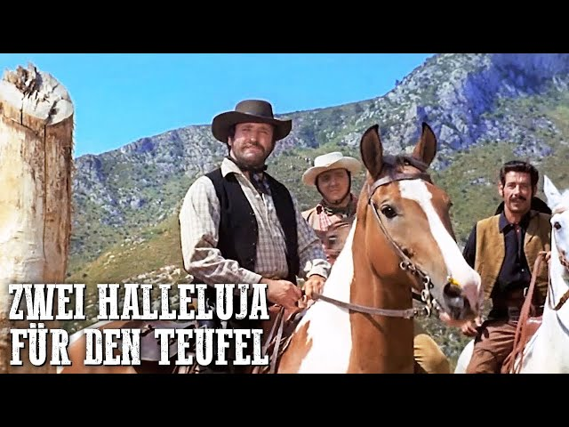 Zwei Halleluja für den Teufel | Richard Harrison | Italowestern | Cowboys | Wilder Westen