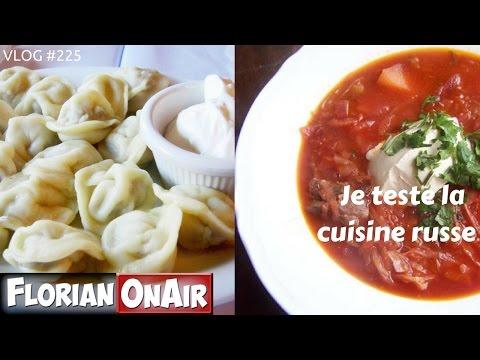 Je teste la cuisine russe - VLOG #225