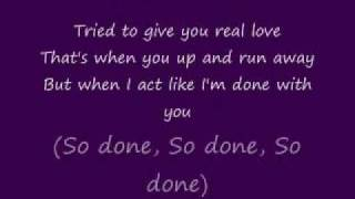 Monica - Stay or Go ( With Lyrics)