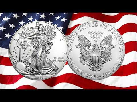 Pourquoi acheter des pièces d'argent American Silver Eagle