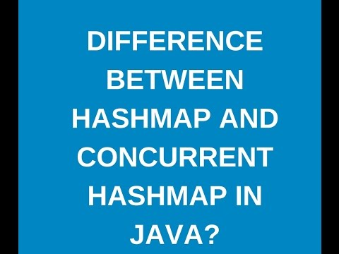 Difference between hashmap and concurrent hashmap in java