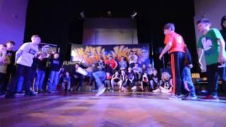 Finał Bboy Battle 2vs2 do 15 lat: Liil Killaz vs Surowizna Breakers