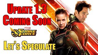 Marvel Strike Force Update 1.3 Coming Soon- Let's Speculate
