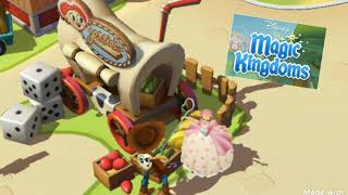 Woody and Bo guitar music Disney Magic Kingdom