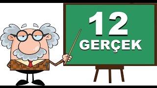 Bilginize Bilgi Katacak 12 İlginç Gerçek