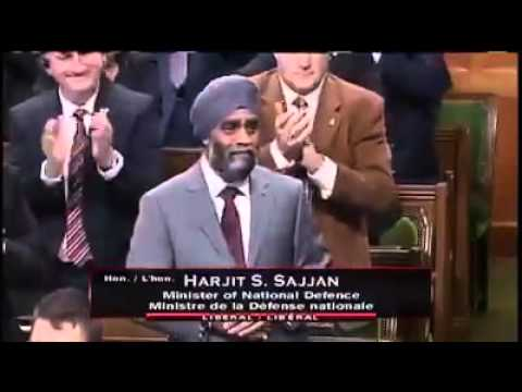 Harjit Sajjan Gets A Standing Ovation During His First Appearance In The House Of Commons!