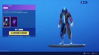 NEW SKIN NEW FORTNITE BOUTIQUE of August 25th (TODAY'S BOUTIQUE)!