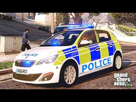 GTA 5 MODS LSPDFR 944  - BRITISH PATROL!!! (GTA 5 REAL LIFE PC MOD) TASER