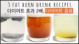 3 Easy Fat Burn Drink Recipe, Fat Cutter Drink, DIY Weight Loss Drink Remedy