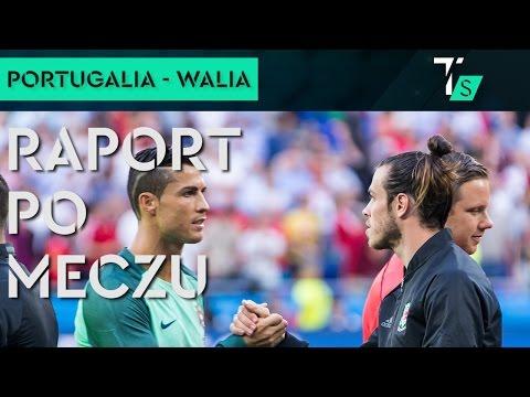 Euro 2016. Portugalia - Walia 2-0. Raport po meczu