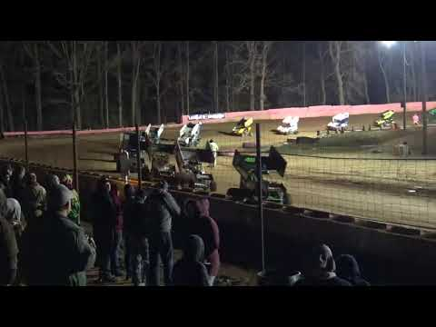 Linda's Speedway 600 Winged A Main 4-20-18