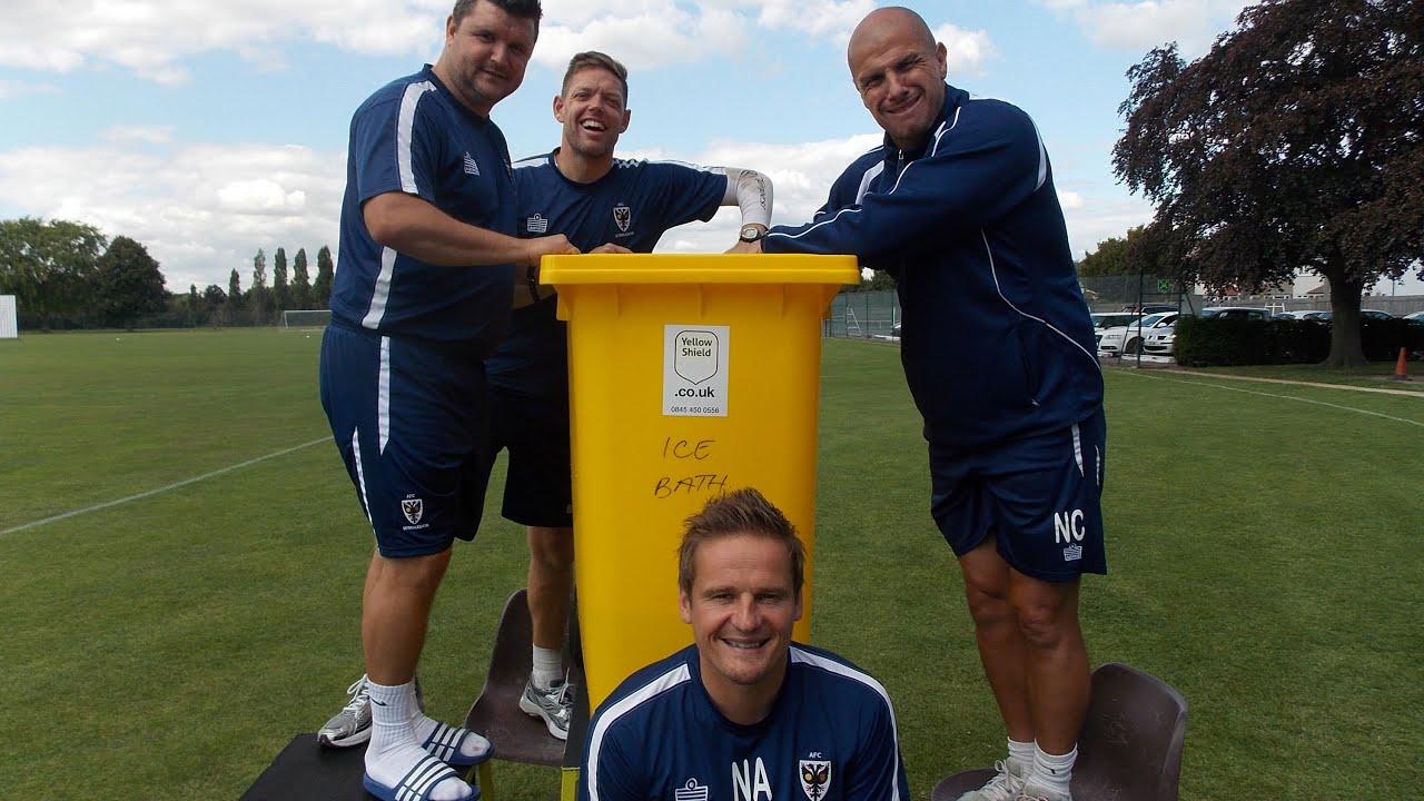 AFC Wimbledon boss takes Ice Bucket Challenge