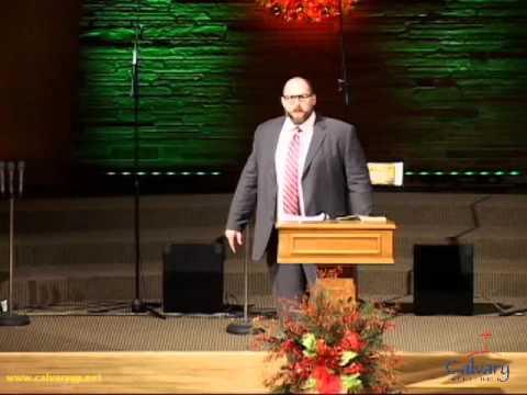 """Jesus Christ, God, Man, Hero, King"" Brian Loveless Sermon"