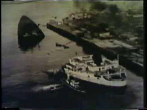 Sansinena Oil Tanker Explosion Los Angeles Harbor 1976 NOAA