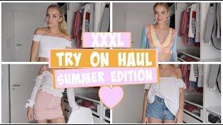 XXL TRY ON HAUL - ASOS- ZARA & H&M SUMMER EDITION  | Patrizia Palme