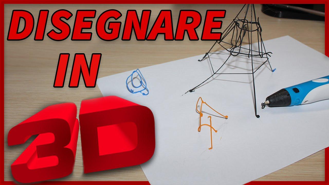 Disegnare con una penna 3d incredibile youtube for Disegnare una stanza in 3d