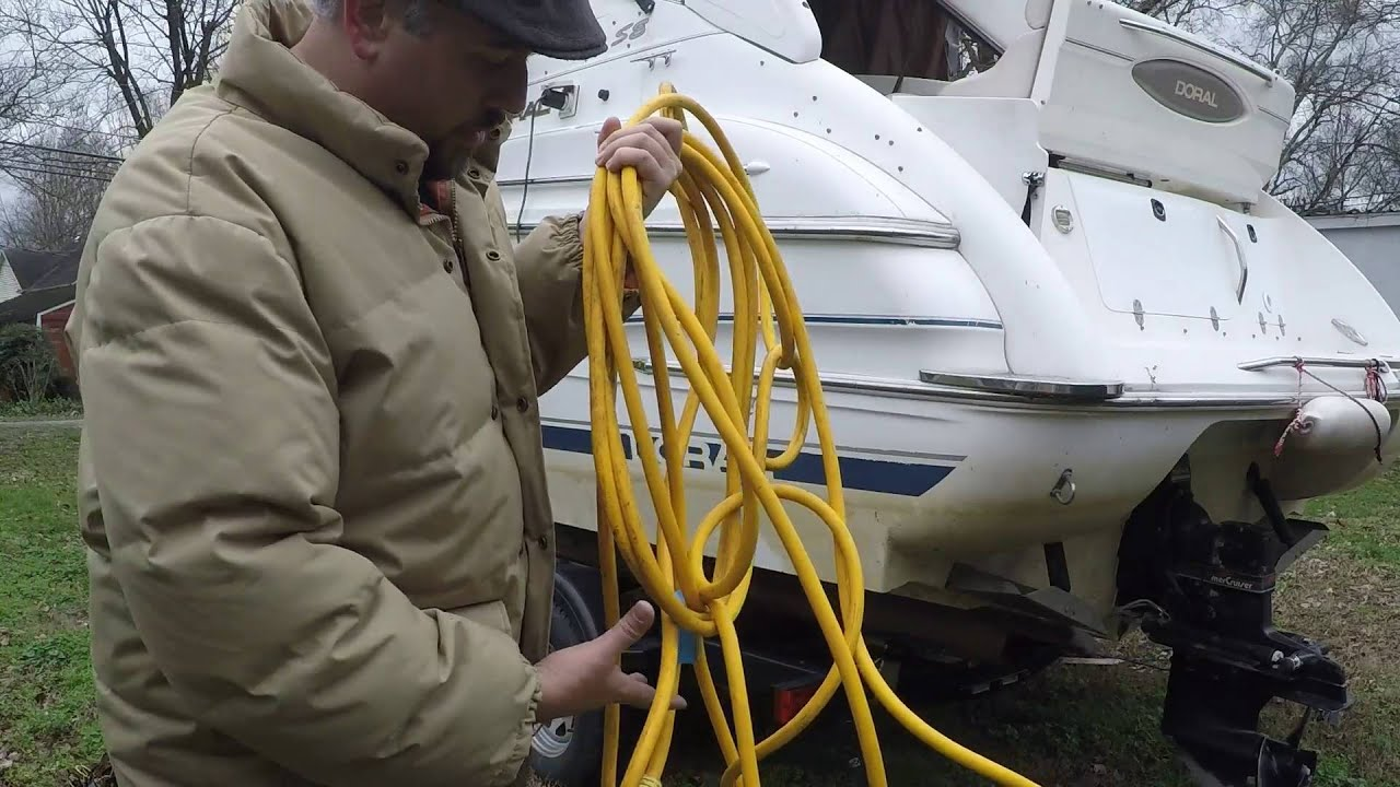 No Shore Power Problem Making Cord To Plug Into Generator Marine Ac Wiring