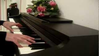 أغنية مع أمي أصحو و أنام - عزف على البيانو