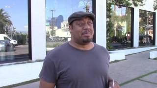 Taye Diggs isn't feeling chatty: We'd Much Rather Talk to Cedric Yarbrough Anyway