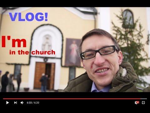 Мой поход в церковь (католическую) - I'm In The Church - Христианский VLOG