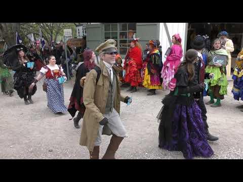 Scarborough Festival 4-8-18 Parade 4k Waxahachie, TX