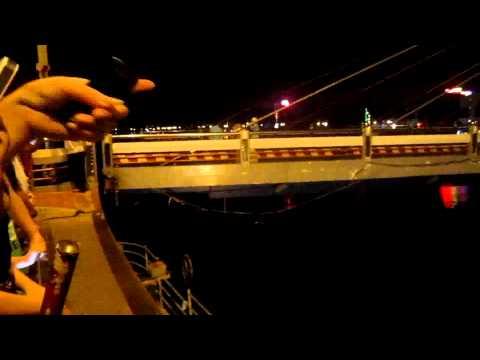 Cầu quay sông Hàn Đà Nẵng 12h đêm 24/5/2014