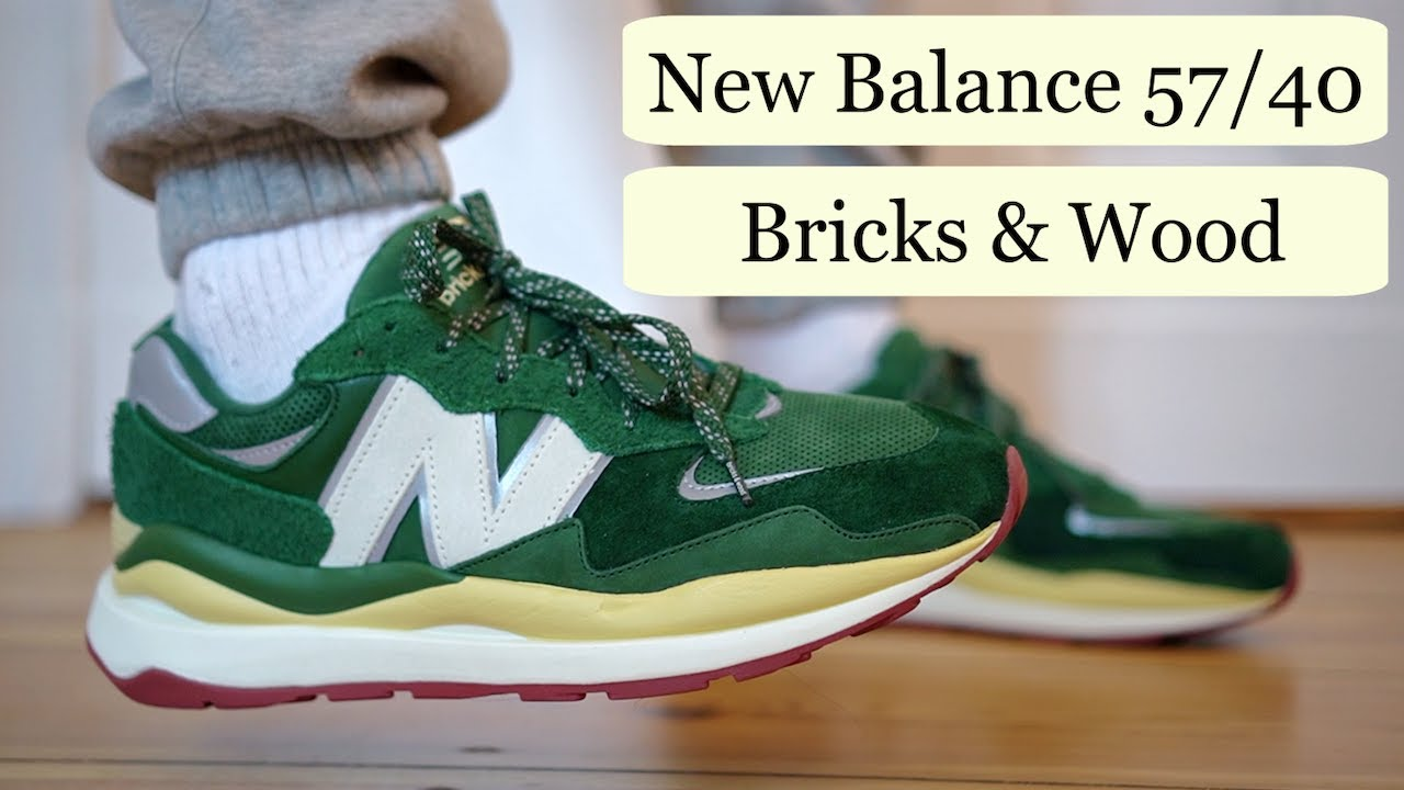 NEW BALANCE 57/40 BRICKS & WOOD REVIEW & ON FEET SIZING... HOW GOOD ARE THESE?