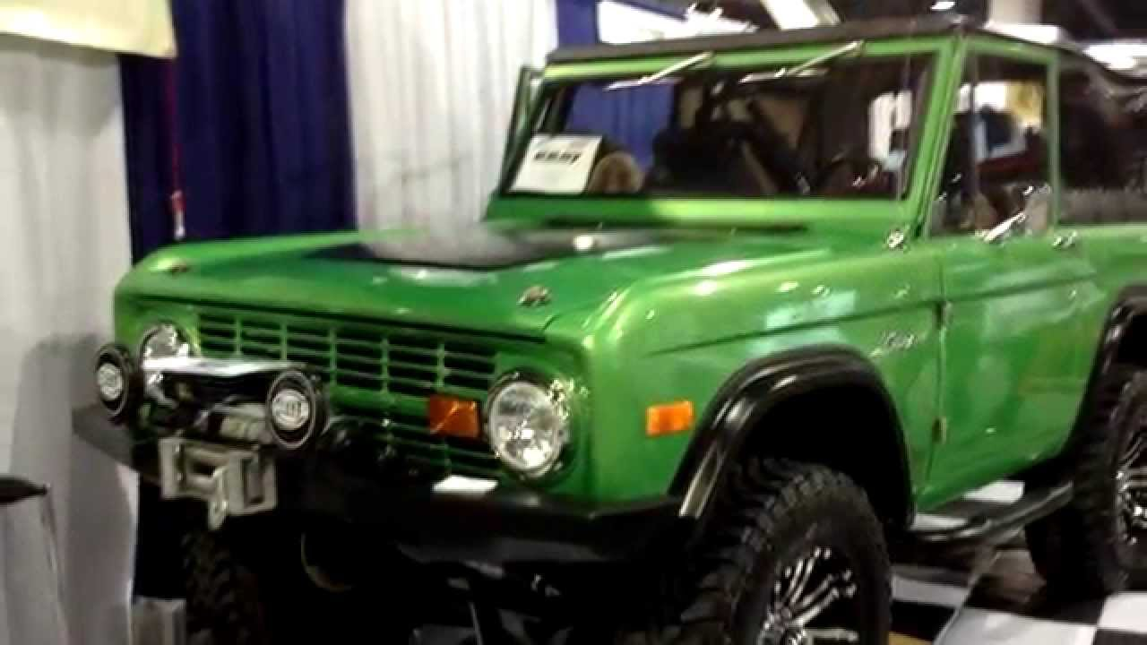 New Ford Bronco >> Bronco Graveyard December 2014 New Products - YouTube