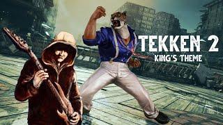 Kings Theme - Tekken 2 - Metal Guitar Cover ft. SwigglesRP