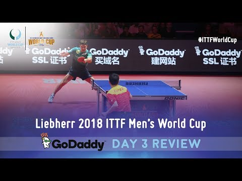 Day 3 Daily Review presented by GoDaddy | 2018 ITTF Men's World Cup