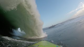 Mavericks two wave hold down