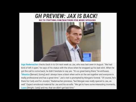 2 WEEKS FROM 9-6-16 GH SPOILERS Jason Alexis Julian Lulu Dante Carly General Hospital Promo Preview from YouTube · Duration:  2 minutes 1 seconds