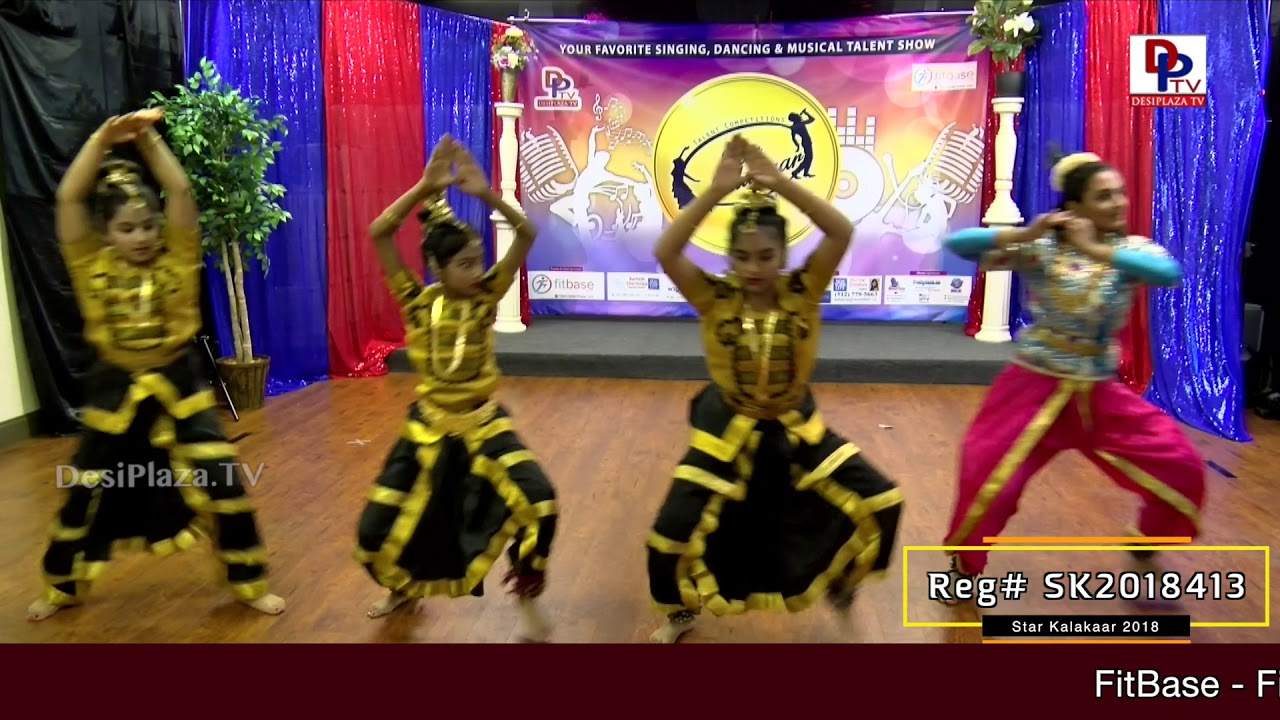 Participant Reg# SK2018-413 Performance - 1st Round - US Star Kalakaar 2018 || DesiplazaTV