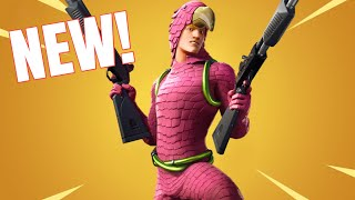 The NEW KING FLAMINGO Skin in Fortnite!