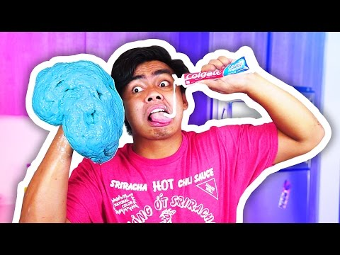 DIY How To Make TOOTHPASTE SLIME + PAN FRYING SLIME!