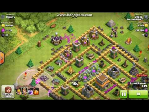 Barbarian Rush Clash Of Clans (epic loot)
