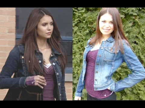 Get The Look Makeup, Hair, & Outfits | Elena Gilbert (TVD)
