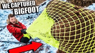BIGFOOT CAPTURED & EXPOSED!! Advanced Spy Trap Gadgets (Sasquatch) thumbnail