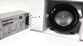Краткий обзор светодиодного карданного светильника серии Digger от ArmatorLED.