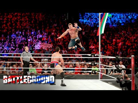 Thumbnail: John Cena and Rusev dig deep to win one for their respective countries: WWE Battleground 2017