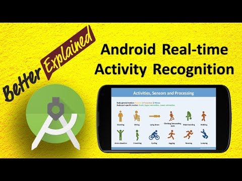 Android Real Time Activity Recognition Tutorial 4
