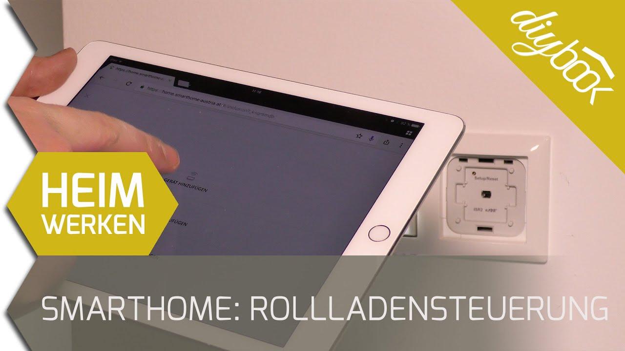 smarthome rollladensteuerung nachr sten youtube. Black Bedroom Furniture Sets. Home Design Ideas