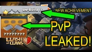 New Update LEAKED! PvP Feature Clash of Clans May 2017!