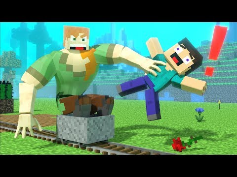 RIP Love Story - Minecraft Animation Life Of Alex And Steve