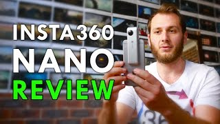Insta360 Nano REVIEW (The 360 Camera For Your iPhone!)