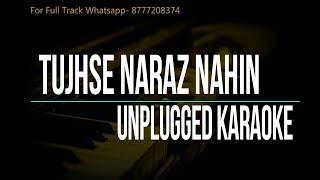 Tujhse Naraz Nahi Zindagi | Lata Mangeshkar | Sanam | Unplugged Karaoke