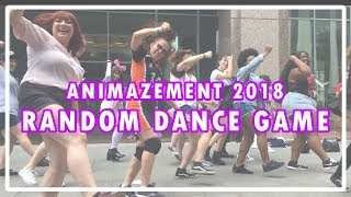 ANIMAZEMENT 2018 KPOP RANDOM DANCE GAME | Meanest Beans