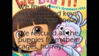 We did it Lyrics - Dora the Explorer