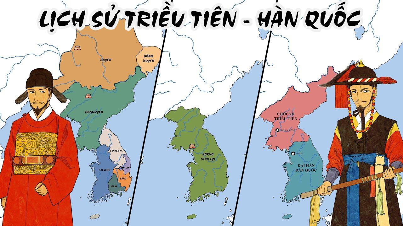Tóm tắt: Lịch sử Triều Tiên - Hàn Quốc   Lịch sử Thế Giới
